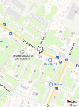 АвтоРОСТ на карте