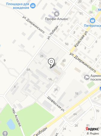 Ахтырский хлебозавод на карте