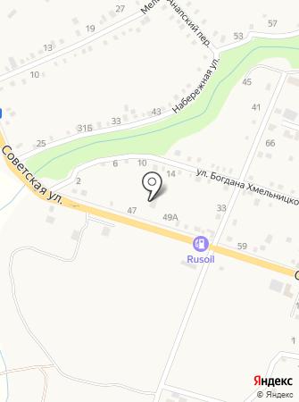 Ахтырский ветеринарный участок на карте