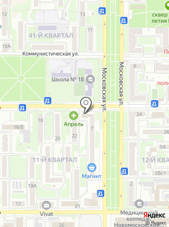 Единая дежурно-диспетчерская служба, Управление по ГО и ЧС на карте