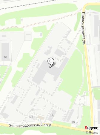 Донской авторемзавод на карте