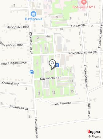 Почтовое отделение №266 на карте