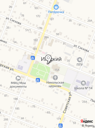 Администрация Ильского городского поселения на карте