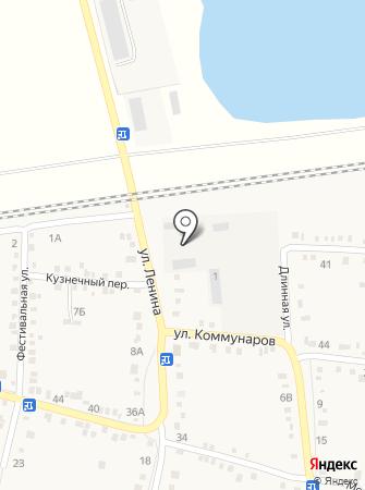 Ильское на карте