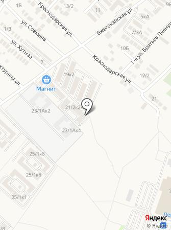 ЮгСтрой, ЖСК на карте