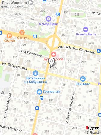 ВИСПА на карте