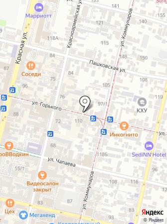 Fiori на карте