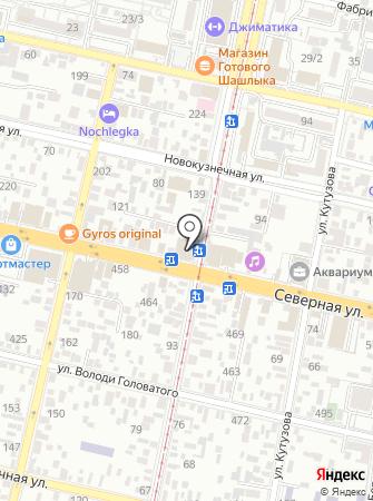 Мой Край-Деловая Кубань на карте