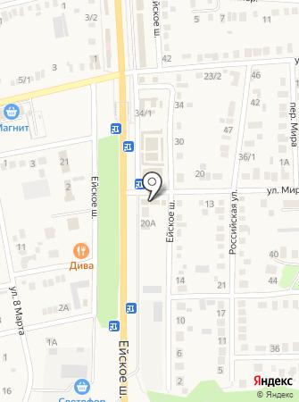 Пенальти на карте