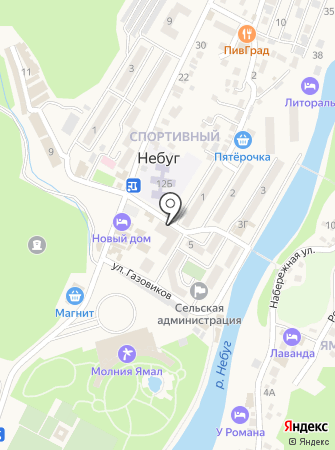 Мясной №1 на карте