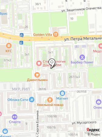 NStudio на карте