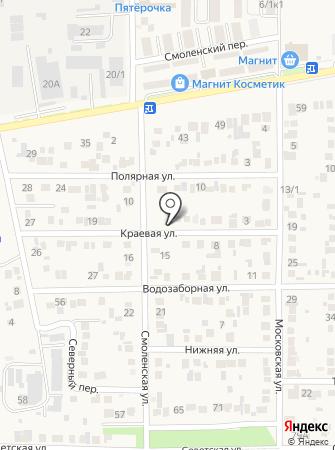 Адреналин-Юг на карте