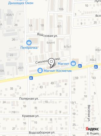 Медовый на карте