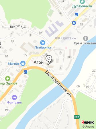 Почтовое отделение связи №21 на карте