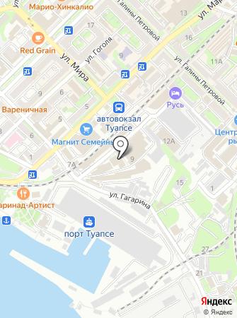 Обоеff на карте