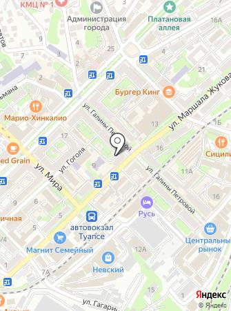 Кармэн на карте