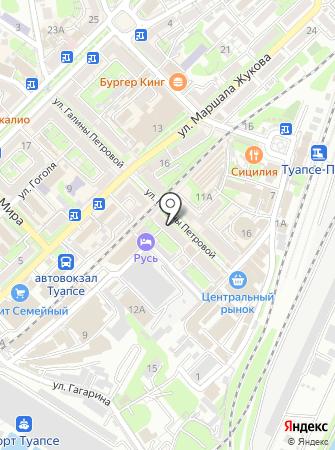 Салон оптики на ул. Галины Петровой на карте