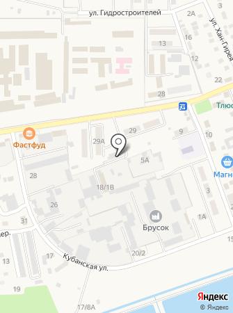 Кубань-Профиль на карте