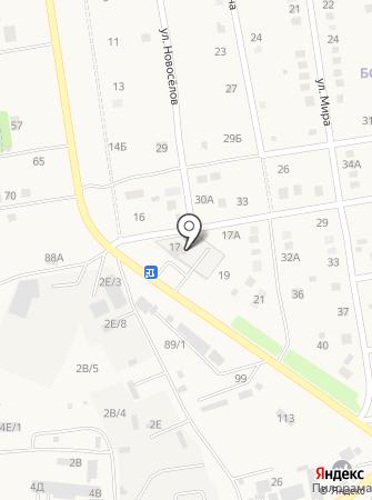 Большая Мойка на карте
