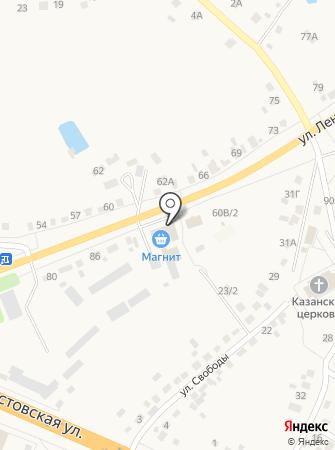 Салон мебели на карте