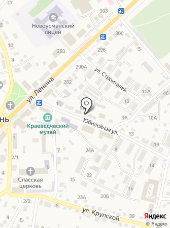 Прокуратура Новоусманского района на карте