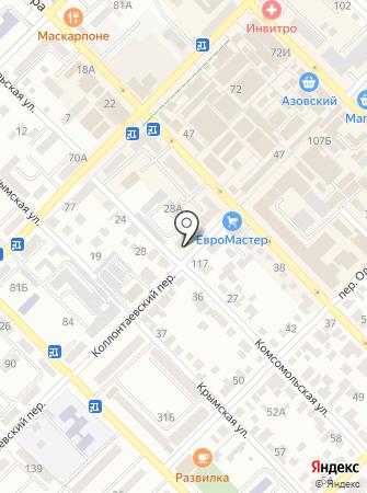 Управляющая организация-Домоуправление №1, МУП на карте