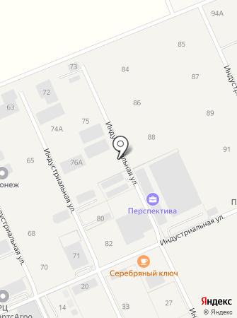 Индастри на карте