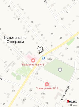 Дубравское на карте