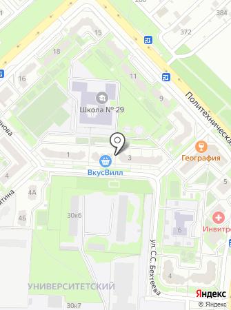 Омникомм-М на карте