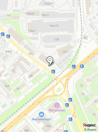 ДВЕРИ-МАРТ на карте