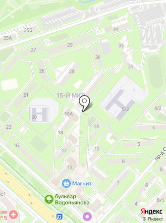 Северяночка на карте