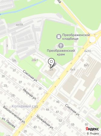 Главное Управление МЧС России по Липецкой области на карте