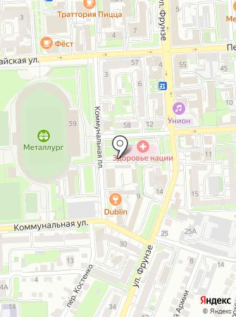 Семейный оздоровительный комплекс на карте