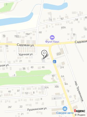 Стальлайн на карте