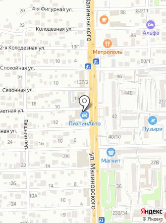 ПихтинАвто на карте