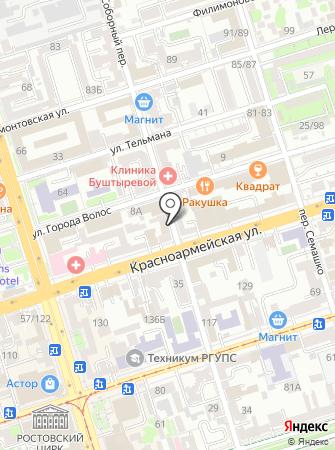 Адвокатский кабинет Васильева Т.В. на карте