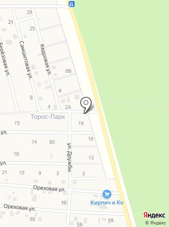 Торос-Парк на карте