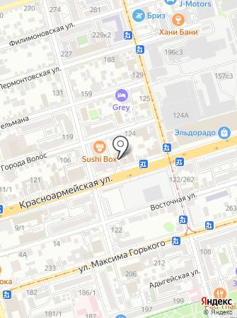 Ковчег детства на карте