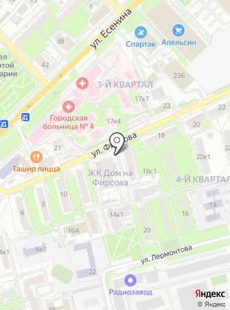 Амка на карте