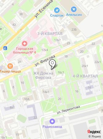 Магазин мясной продукции на карте