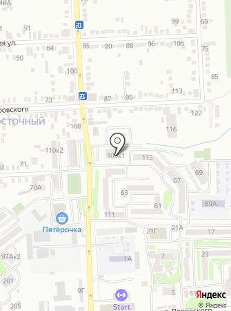 MasterBus на карте