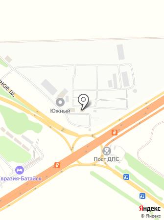 Искра ЮГ на карте
