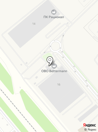 ОБО Беттерманн Производство на карте