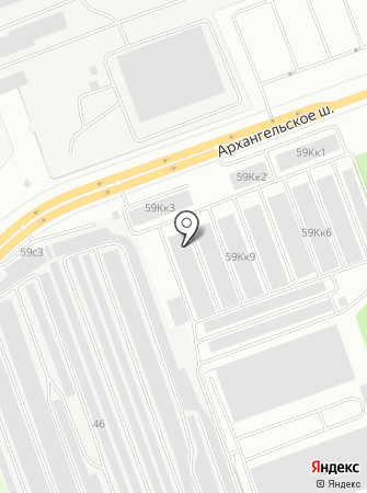 Полировка29 на карте