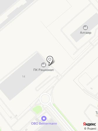 ПРОИЗВОДСТВЕННЫЙ КОМПЛЕКС РАЦИОНАЛ на карте