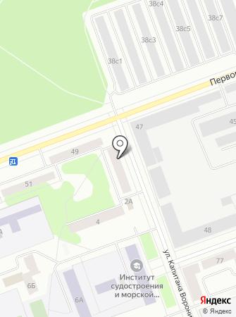 Центр упаковки на карте