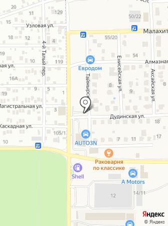 Вектор 161 на карте