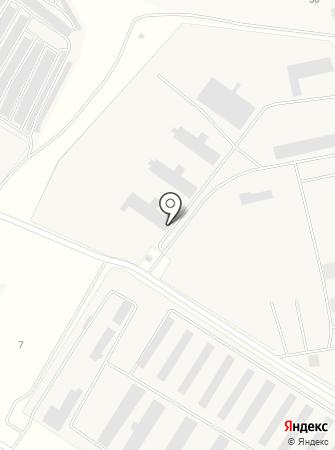 Липецк-Тент на карте