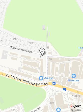 Магазин лакокрасочных материалов на карте