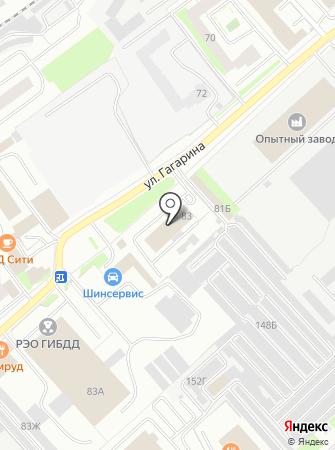 Стройпрокат на карте